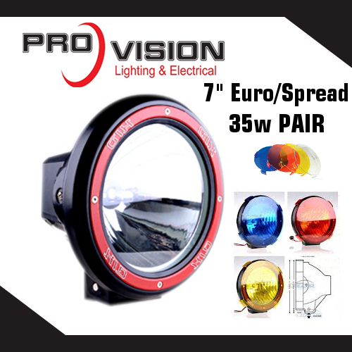 7 Inch Euro HID Driving Light